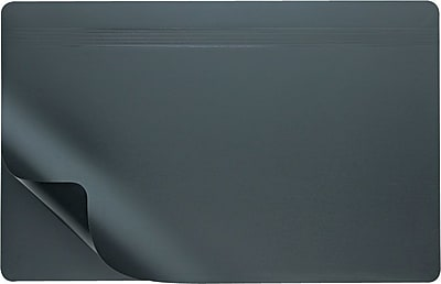 Artistic™ Hide-Away Lift-Top Desk Organizer Pad, Black, 20