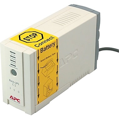 APC Back-UPS® CS 350VA 6-Outlet UPS (BK350)