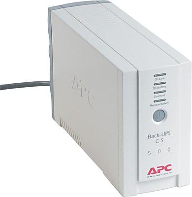 APC Audible Alarm Battery Backup UPS (BK500)