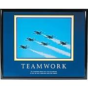 Teamwork (Jets) Framed Motivational Print