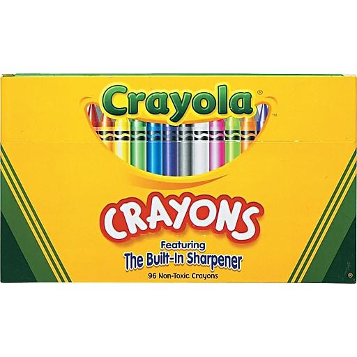 crayola crayons 96 box staples