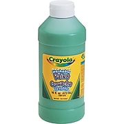 Crayola Washable Paints, Green, 16 oz. (54-2016-044)
