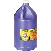 Crayola Washable Paint, 1 Gallon, Violet (542128040)