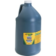 Crayola® Washable Paint, 1 gal, Black, Each (542128051)