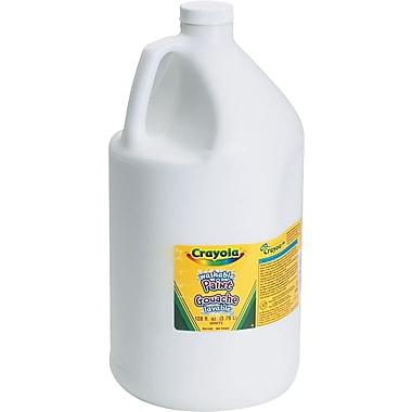 Crayola Washable Paint, 1 gal, White, Each (542128053)