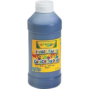 Binney & Smith Crayola® Washable Fingerpaint, Violet, 16 oz.