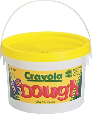 Crayola® Play Dough, 3 lbs., Yellow (570015034)