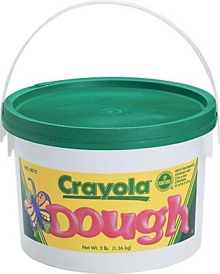 Binney & Smith Crayola® Modeling Dough, Green, 3 lb. (570015044)