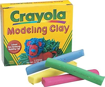 Crayola® Modeling Clay, 4-oz. Sticks, 4/Pack