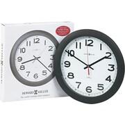 Howard Miller® Norcross Auto Daylight-Savings Wall Clock, Black, Analog (625-320)