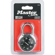 Master Lock® Combination Lock, Silver, Each (1500D)