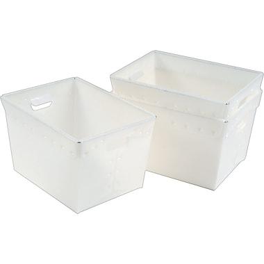 Mayline Polyethylene Mail Totes/ Pack of 3