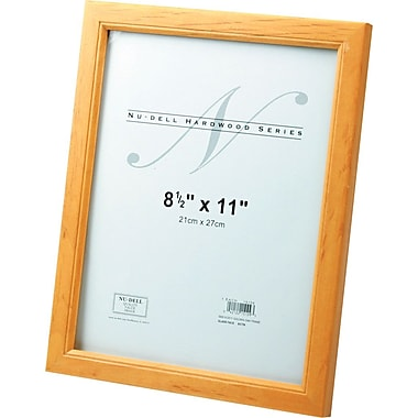 NuDell™ Traditional Solid Hardwood Frame, Oak Finish, 8-1/2