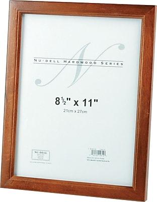 Nu-Dell Solid Oak Frame w/Walnut Finish