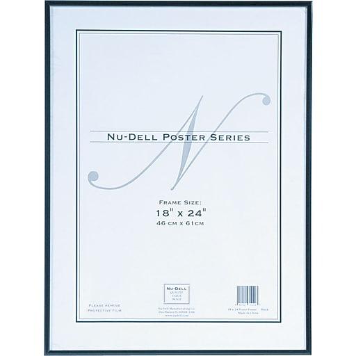 Nu-Dell Metal Poster Frame, 18\
