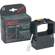 Okidata 4-Color Nylon Ribbon for Okidata Microline 590, 591 Printers