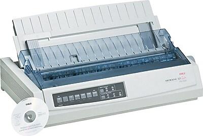 OKI® ML-321 Dot Matrix Printer, 9-Pin (62411701)