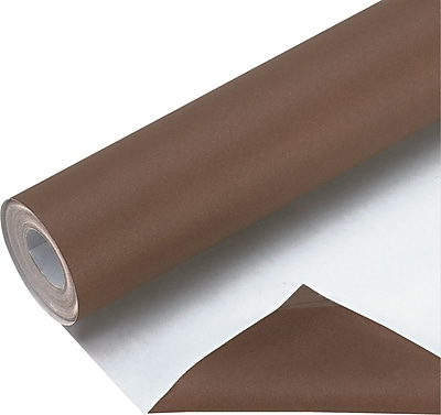 Bemiss-Jason Spectra Fadeless Art Paper Roll, 50-lb., Brown, 48