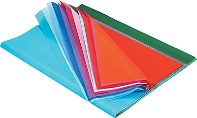 Pacon Spectra Art Tissue Paper, 10-lb., Assorted Colors, 12