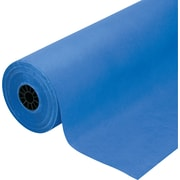 "Pacon Rainbow Duo-Finish Colored Kraft Paper, 40 lb., Royal Blue, 36"" x 1000'"