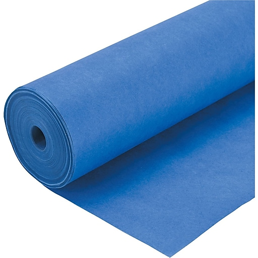 "Pacon Spectra® ArtKraft® Duo-Finish® Heavyweight Paper, 48 lbs., Royal Blue, 48"" x 200'"