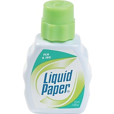 Paper Mate® 7470115 Pen & Ink Correction Fluid, 22 ml Fluid