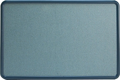 Quartet® contour® Fabric Bulletin Boards, 2Hx3'W, Blue