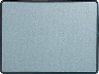 Quartet® contour® Fabric Bulletin Boards, 3Hx4'W, Blue