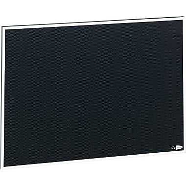 Quartet® Matrix™ Black Bulletin Board, Aluminum Frame, 23