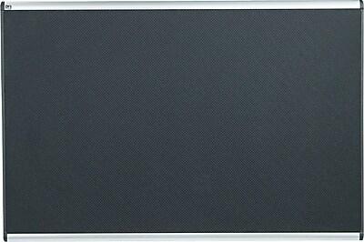 Quartet® Prestige® Embossed Foam Bulletin Board, 6' x 4', Aluminum Frame