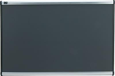 Quartet® Prestige® Grey Diamond Mesh Boards, Aluminum, 24-1/2