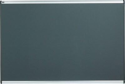 Quartet® Prestige® Grey Diamond Mesh Boards, Aluminum, 48