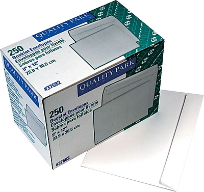 Quality Park® Side Opening Envelopes, 9x12