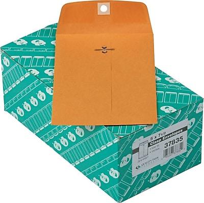 Quality Park Gummed Clasp Envelopes, 5