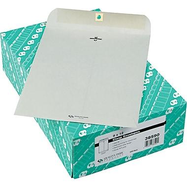 Quality Park Gummed Clasp Envelopes, 9