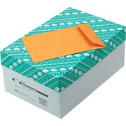 "Quality Park Gummed Open-End Catalog Envelopes, 6"" x 9"", Brown, 500/Box"