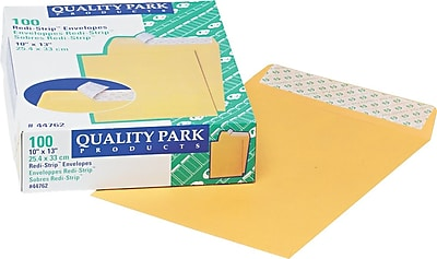 Quality Park Redi-Strip™ Redi-Strip™ Open-End Catalog Envelopes, 10