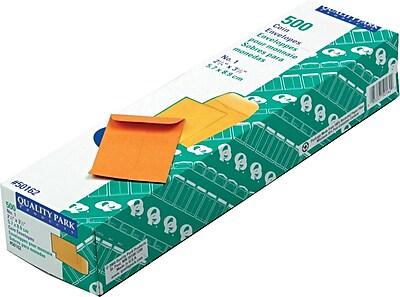 Quality Park® Kraft Coin Envelopes, 2-1/4x3-1/2