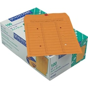 """Quality Park Products® 10"""" x 13"""" Brown 28 lbs. Inter-Departmental Envelopes, 100/Pack"""