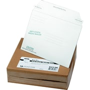 "6"" x 8 5/8""Quality Park Redi-Strip™ Anti-Static Disk Mailers Envelopes, White, 25/Bx (QUA64126)"