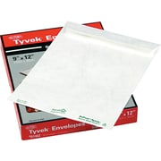 "Quality Park Flap-Stick® Lightweight Tyvek® Catalog Envelopes, 9"" x 12"", White, 50/Bx (QUAR1462)"
