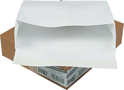 Quality Park Flap-Stick® Tyvek® Open-Side Expansion Envelopes, 12