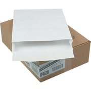 "Quality Park Flap-Stick® Lightweight Tyvek® Open-End Expansion  Envelopes, 12"" x 16"" x 2"", White, 100/Bx"
