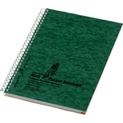 """National, Wirebound 3-Subject Notebook w/Pocket Dividers, 9 1/2"""" x 6 3/8"""", College Ruled, 120 Sheets"""