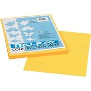 "Pacon Tru-Ray Construction Paper 12"" x 9"", Yellow, 50 Sheets (103004)"