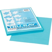 """Pacon Tru-Ray Construction Paper 12"""" x 9"""", Turquoise, 50 Sheets (103007)"""