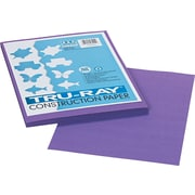 """Pacon Tru-Ray Construction Paper 12"""" x 9"""", Violet (103009)"""