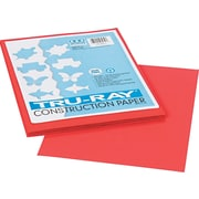 """Pacon® Tru-Ray® Construction Paper, 76 lbs, Red, 9"""" x 12"""", 50 Sheets/Pk"""