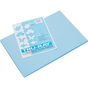 "Pacon Tru-Ray Construction Paper 18"" x 12"", Sky Blue (103048)"