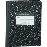 """Roaring Spring Black Marble Composition Book, 9.75"""" x 7.5"""", 60 Sheets"""